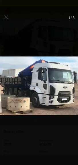 Camión con hidrogrua. VENDO O PERMUTO