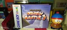 Manual Bugs Bunny Crazy Castle ORIGINAL para Gameboy Color