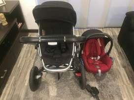 Vendo Coche + Silla auto bebe Quinny