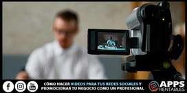 Curso MasterClass Creación de Videos Profesionales  Para Redes Sociales  Curso MasterClass