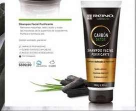 Shampoo facial purificante-elimina toxinas, impurezas, maquillaje Purifica e ilumina la piel