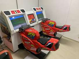 Simulador de Motos Suzuka Bike Arcade