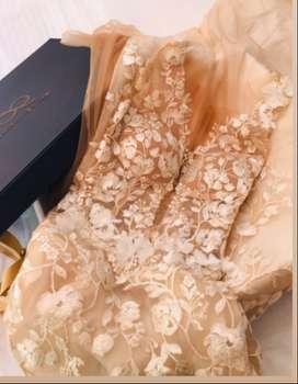 Vestido de novia usado. De diseñador!