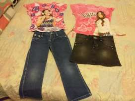 Vendo ropa para niñas talle 4 y 6 y 8  12