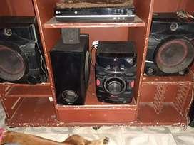 Equipo de sonido  LG  bluetooth