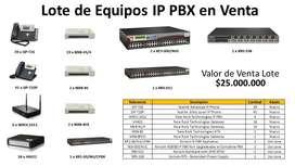 Lote de Equipos IP PBX, Nuevos y Uso Leve!!! Valor del Lote $25.000.000, Negociables!!!