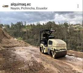 Alquiler de Rodillo Compactador, Compactaciones, Movimientos de tierras Sub rasante compactada, Plataformas, Excavacione