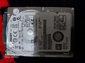 Disco duro de 500 gb en buen estado sirve para computador portátil, xbox o play