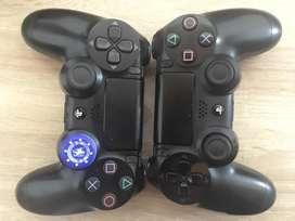 Ps4 500gb + 2 controles y 4 juegos