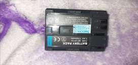 Bateria para canon BP_511A