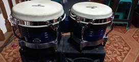 Vendo bongo LP matador color azul