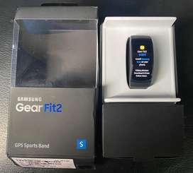 Samsung gear fit 2 gris