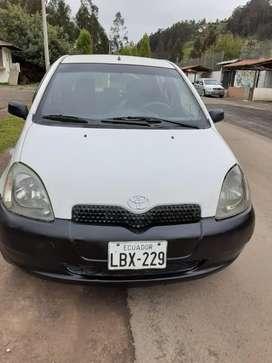 Vendo flamante Toyota Yaris 2002 cero golpes