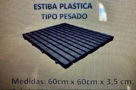 VENDO ESTIBAS PLASTICAS