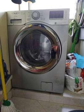 Lavadora/secadora Haceb