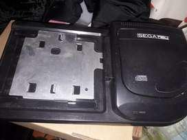 Sega CD con un juego