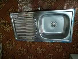 Lavabo de Cocina en Acero Inoxidable