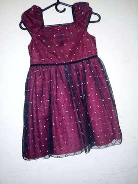 Vendo hermoso vestido para niña