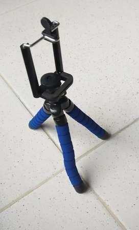 Soporte o trípode flexible para celular
