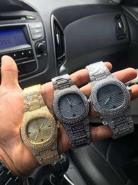 Reloj de diamantes