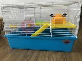 Refugio para hamster ruso
