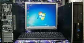 "Pc de mesa hp AMD Athlon(tm)ll X2 220 processor 2,80ghz ram 4Gb disco 500gb monitor 17"" teclado y mouse garantía 3 meses"