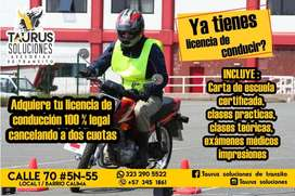 licencias de transito