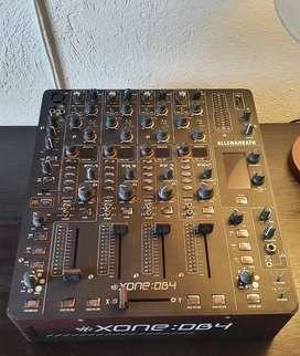 Allen & Heath Xone:DB4 Mezclador digital DJ de 4 canales con efectos
