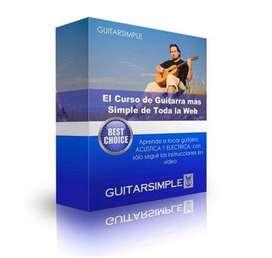 Curso de guitarra ONLINE el mas simple para aprende y lo mejor 7 dias de garantia
