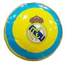 Balón De Futbol Con Logo Del Real Madrid 0