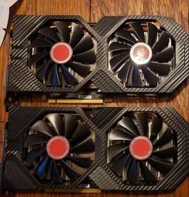 TARJETA GRAFICA  RX 580 4 GB