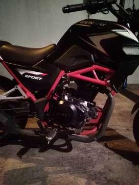 Oportunidad venta de moto shineray