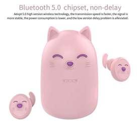NO TE QUEDES SIN LOS TUYOS Audífonos Bluetooth Cat ZW T11 con powerbank