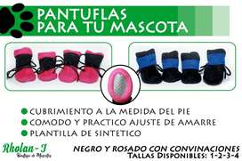 PANTUFLAS PARA TU MASCOTA