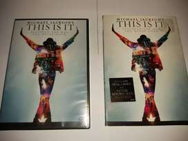 Vendo Pelicula de Michael Jackson Thi is It Sellado.