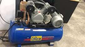 Compresor De Aire Bta 100 Litros 3hp Trifásico