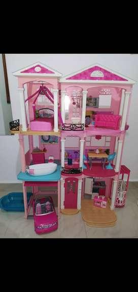 Barbie Dreamhouse casa de los sueños