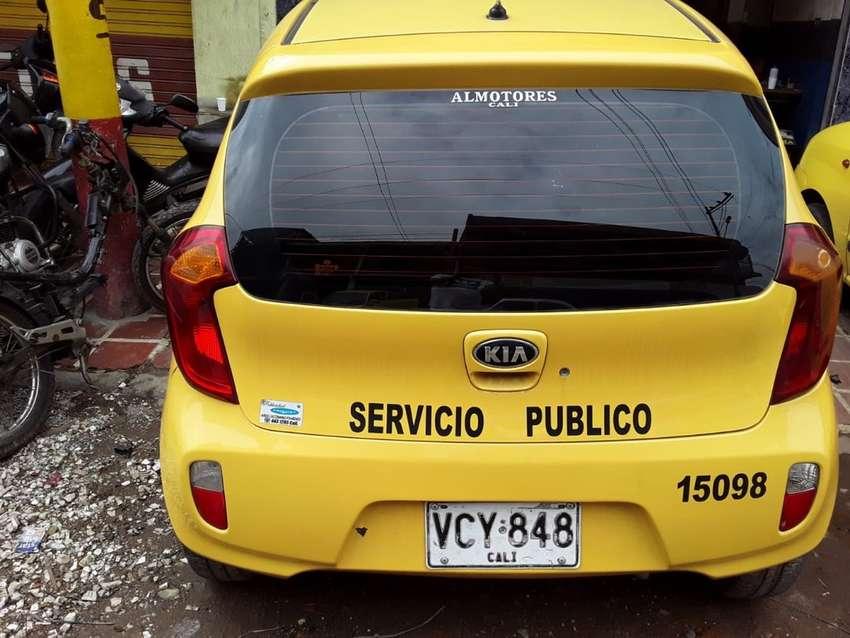 Vendo taxi kia picanto 2013 0