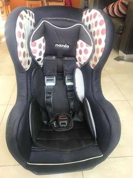Butaca auto infantil 9 a 18 kg