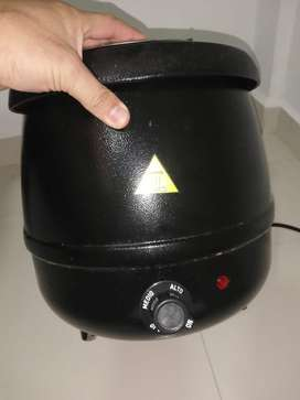 Vendo olla electrica para calentar sopa