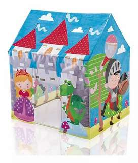 Castillo infantil tipo casa para niños carpa