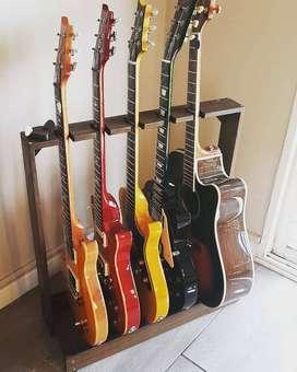 Soporte Apoya Guitarras Bajos y Amplificadores - SAMSARA STANDS -