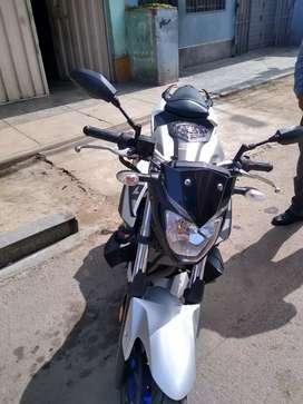 MT 03 Yamaha ocasión por viaje