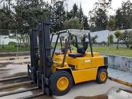 Montacargas de 5 toneladas a diesel