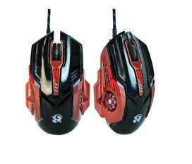 Raton Computdora Mouse USB Gamer N3 retroiluminado DPI (800, 1600, 2400 y 3200)