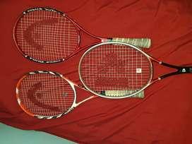 Raquetas de Tennis 1x1500 2x2500 3x4000