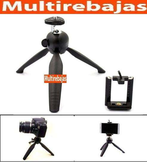 Tripode Aluminio Selfie Profesional Para Celulares Y Camaras 0