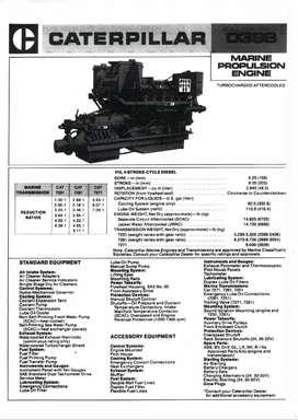 Motor Diesel Estacionario Caterpillar Marino
