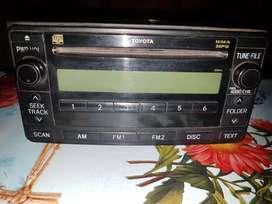 Stereo  original toyota sr
