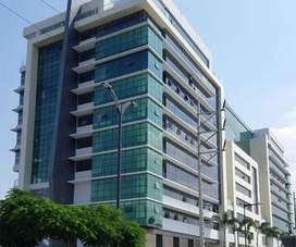 Venta de Oficina con Espectacular Vista Al Río Edf. Sky Building, Norte de Guayaquil